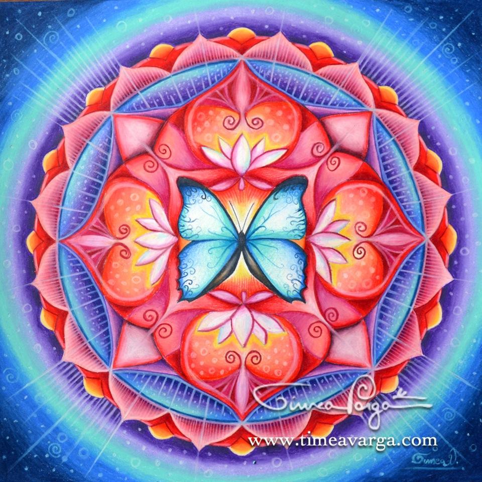 Butterfly Spirit Mandala