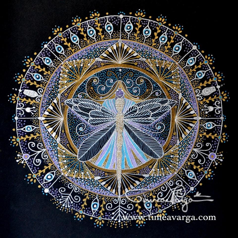 Dragonfly Spirit Mandala