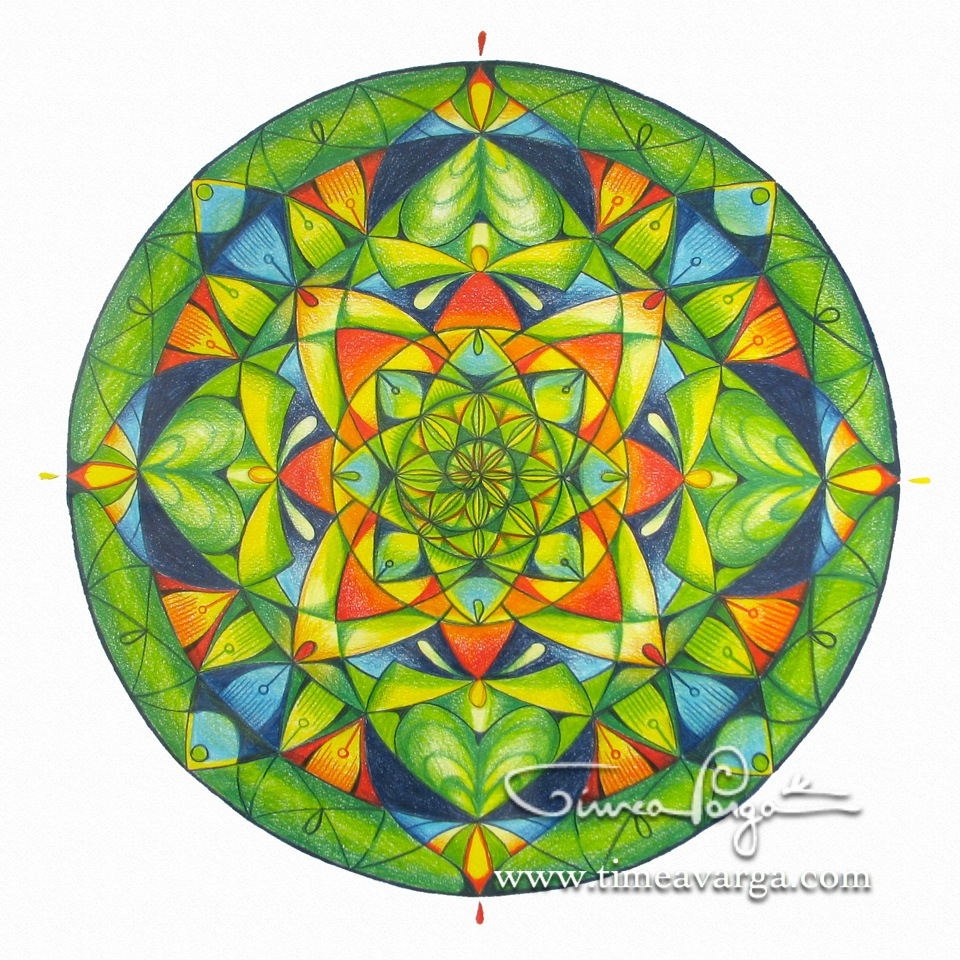 Personal Mandala of Balance, Infinity, and Health