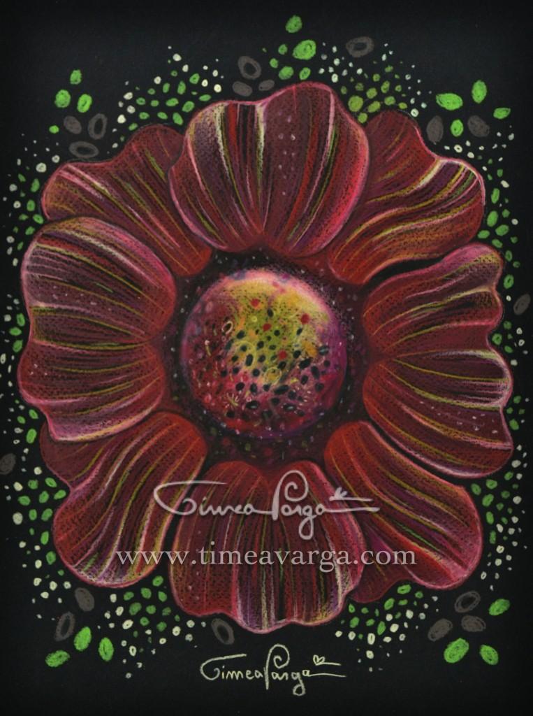 COSMIC FLOWER MANDALA I