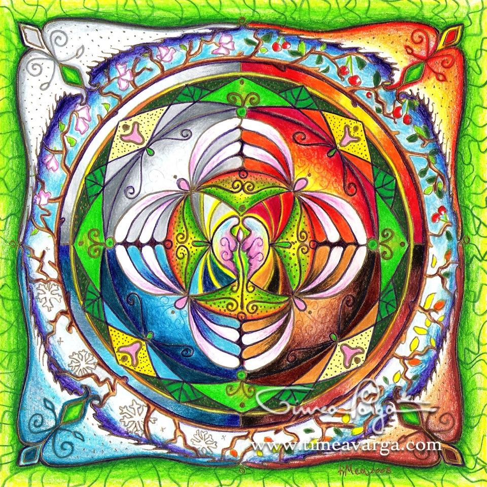 Mandala of Balance & Harmony