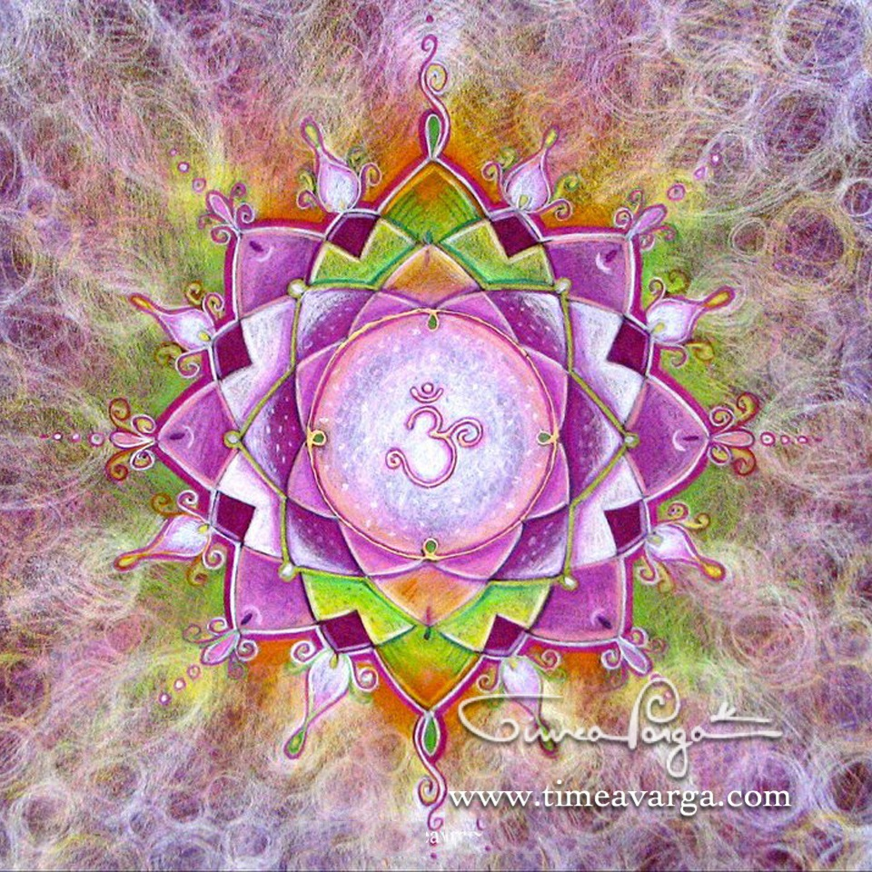Personal Mandala of Purity, Gentleness and Love